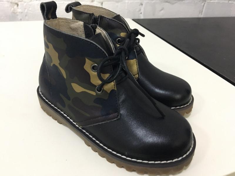 Купить Модель №5382 Ботинки TM Evie Military Black - фото 2