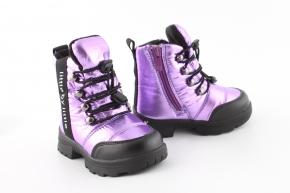 Купить Модель №7214 Зимние ботинки Тм Clibee - фото 3