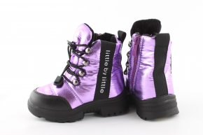 Купить Модель №7214 Зимние ботинки Тм Clibee - фото 4