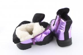 Купить Модель №7214 Зимние ботинки Тм Clibee - фото 5