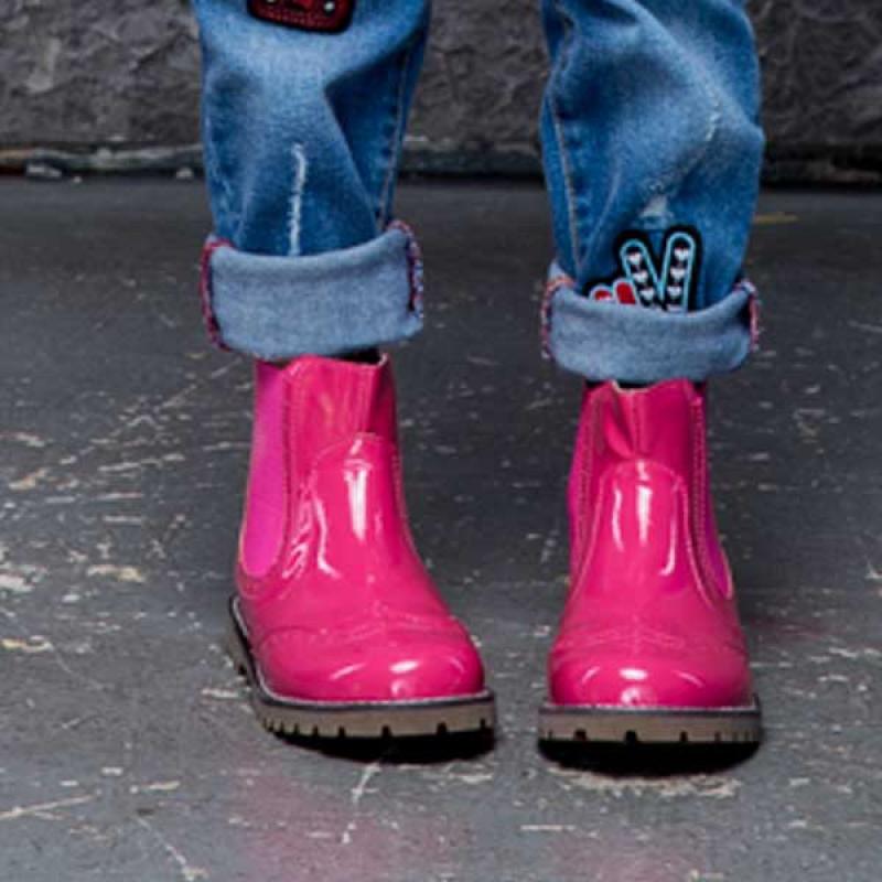 Купить Модель №5321 Ботинки TM Evie Mini Martens Pink - фото 5