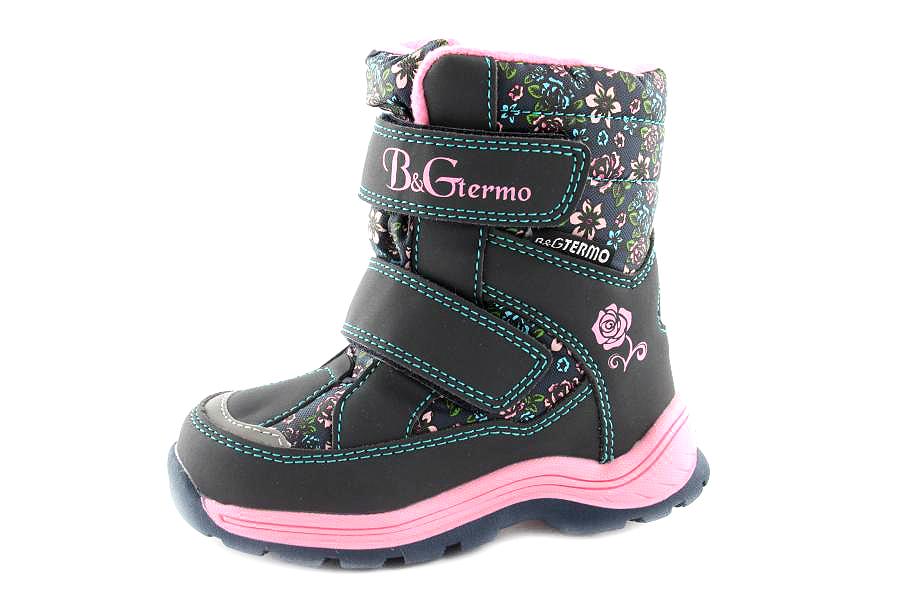 Модель №6406 Зимние ботинки ТМ «BG» Termо