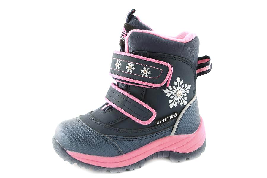 Модель №6409 Зимние ботинки ТМ «BG» Termo