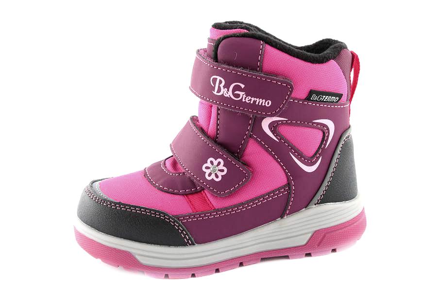 Модель №6433 Зимние ботинки ТМ «BG»