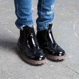 Купить Модель №5320 Ботинки TM Evie Mini Martens Black - фото 5
